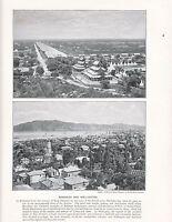1897 Vittoriano Stampa ~ Mandalay Burma ~ Wellington New Zealand~ Forti Testo