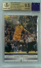 2002 UPPER DECK UD SPOKESMAN NATIONAL CONVENTION KOBE BRYANT GU JERSEY BGS 9.5