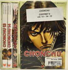 Set of 3 Mangas VF - CHONCHU - Box Flight 5 - No. 13 + 14 + 15 - TOKEBI - NEW