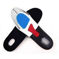 KEUK Men Gel Orthotic Sport Running Insoles Insert Shoe Pad Arch Support Cushion
