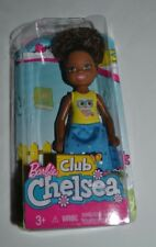 2017 / 2018 NEW RELEASE BARBIE CLUB CHELSEA GIRL DOLL AFRICAN AMERICAN FHK93