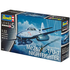 REVELL Messerschmitt Me262 B-1/U-1 Nightfighter 1:32 Aircraft Model Kit 04995