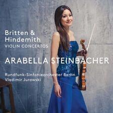 Britten & Hindemith Violin Concertos [New SACD] Hybrid SACD