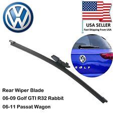 OEM Quality Rear Wiper Blade for 06-09 VW Golf GTI R32 Rabbit 06-11 Passat Wagon