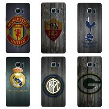 Cases For Samsung Galaxy Note A5 A7 2016 Soft TPU Phone Back Cover Football Club
