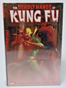 Deadly Hands of Kung Fu Marvel Omnibus Vol 1 DELLOTTO HC Hard Cover New Sealed