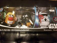 Star Wars Mr. Potato Head Darth Tater & Luke Frywalker 30 pcs Disney Playskool