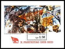 "EBS East Germany DDR 1981 ""When Communists Dream"" Michel Block 63 MNH**"