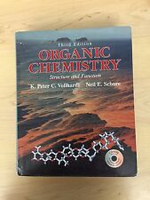 Organic Chemistry Third Edition by Vollhardt and Schore with CD-Rom (Hardcover)