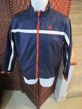 Adidas Windbreaker Light Jacket Youth Large Multi Color Full Zip Boys