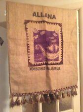 COPERTA di caffè Sack Muro Appeso Navi VICHINGHE-Allana