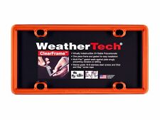 WeatherTech ClearFrame License Plate Frame- Durable Frame - 1 Pack - 17 Colors!