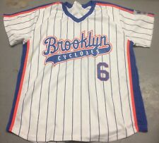 Brooklyn Cyclones Wally Backman #6 Jersey XL NY Mets WFAN SGA New York 1986