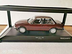 Minichamps 1:18 BMW 323i Rot Metallic 1982   mit OVP Neuwertig