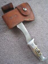 Ruana Hand Made 22H Hatchet & Sheath.Nice Condition!