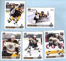 2012-13 Russian Bear Stanley Cup Finals Boston Bruins set (23)