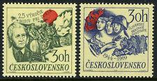 Czechoslovakia 1638-1639, MNH.Slovak uprising,Battle of Dukla.Pres. Svoboda,1969