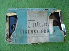 1940s 1950s Vintage Custom Chrome License Plate frame by FUTURA rat street rod