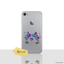 Disney Coque/Étui/Case iPhone 5/5s/SE / Protecteur D'écran Gel / Mickey & Minnie