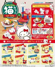Re-ment Sanrio Hello Kitty Coffee Shop Cafe Rement miniature Full Set of 8