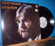 Lp-David Wagner-d/b/a Crow '72 rock pop psych