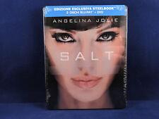 SALT - Steelbook - Bluray - Neuf - Italian Exclusive - Angelina Jolie