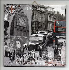 Dekofliese Wandbild Bildfliese Vintage London (028) Geschenkidee