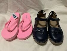 2 Pairs Of Girls Shoes-Gymbore- Old Navy-Size 1-See Photos