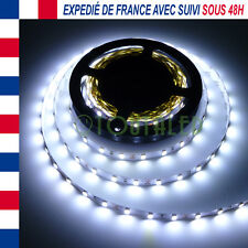 LED STRIP RUBAN BANDE 5M 12V 300 LED 5630 BLANC FROID NON ETANCHE 60 LED/M FR