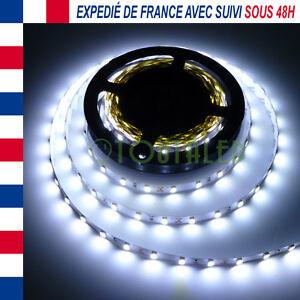 LED STRIP RUBAN BANDE 5M 12V 300 LED 5630 BLANC FROID NON ETANCHE 60 LED/M FR