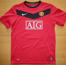 Manchester United 2009/10 #10 Wayne Rooney Nike Youth XL Football Shirt