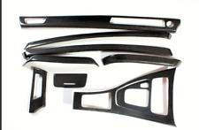 9PCS Carbon Fiber Interior Control Trim For BMW E90 3Series 318i 320i 325i 05-08