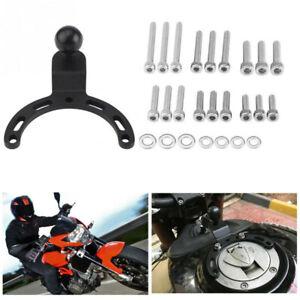 Motorcycle ATV Universal Gas Tank Mount GPS Phone Camera Bracket Adjustable