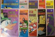 UNCLE SCROOGE LOT OF 10 GOLD KEY FILE COPIES 130 TO 140 - FN/VF TO NM-