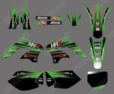 TEAM GRAPHICS BACKGROUNDS DECALS For KAWASAKI KX450F KXF450 2006 07 08 D2