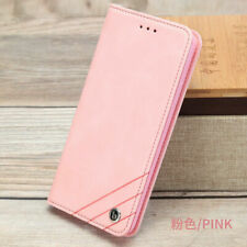 Funda con tapa billetera cuero para iPhone 11 Pro X XR XS Max 6 7 8 Plus carcasa