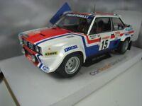 FIAT 131 ABARTH TOUR DE CORSE 1979 M.MOUTON 1/18 SOLIDO