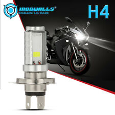 H4 9003 HB2 LED Bulb Hi/Lo Beam HID HS1 20W 6500K Motorcycle Headlight Moped ATV