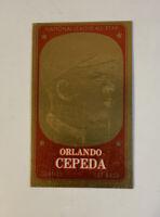 1965 Topps Embossed # 45 Orlando Cepeda San Francisco Giants Baseball Card HOF