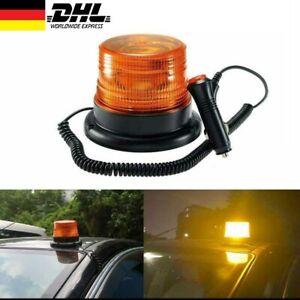 Auto LED Blinkleuchte Warnlicht Blitzleuchte Warner Rundumleuchte Gelb 12V-24V
