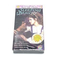 Rare! Shelley Duvalls Faerie Tale Theatre Sleeping Beauty VHS Bernadette Peters