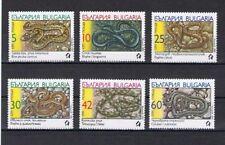 """Bulgarien, """"Schlangen"""" kpl. Satz postfrisch aus dem Jahr 1989"""