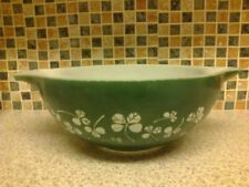 Britain Green Pyrex Glassware Bowls