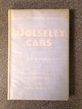 WOLSELEY CARS by DVW FRANCIS - C ARTHUR PEARSON LTD 1957 *1ST ED* H/B
