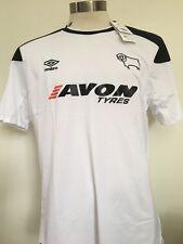 Derby County Hogar Camiseta De Fútbol 2017-2018 L BNWT
