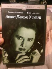 Sorry, Wrong Number (DVD, 2002)