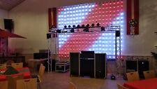 Bekannt aus der RTL Chartshow ! Eurolite PixelBall ! LED Vorhang ! 45 Pixel ! 9m