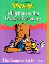 "Krazy & Ignatz Vol 5-1990-Strip Reprints Hard Cover-"" Pilgrims Road To Nowhere """