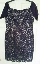 Spotlight at Warehouse Lace Bardot Pencil Dress size 16 BNWT Cruise Cocktail