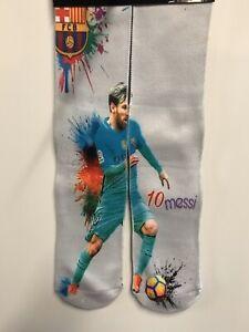 Messi  Soccer Socks 3d Sublimation